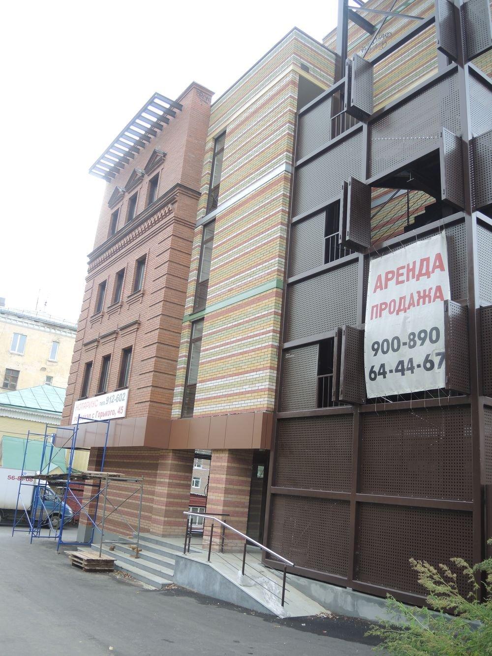 Новый офисный центр на ул. Горького. Фото ©День.org