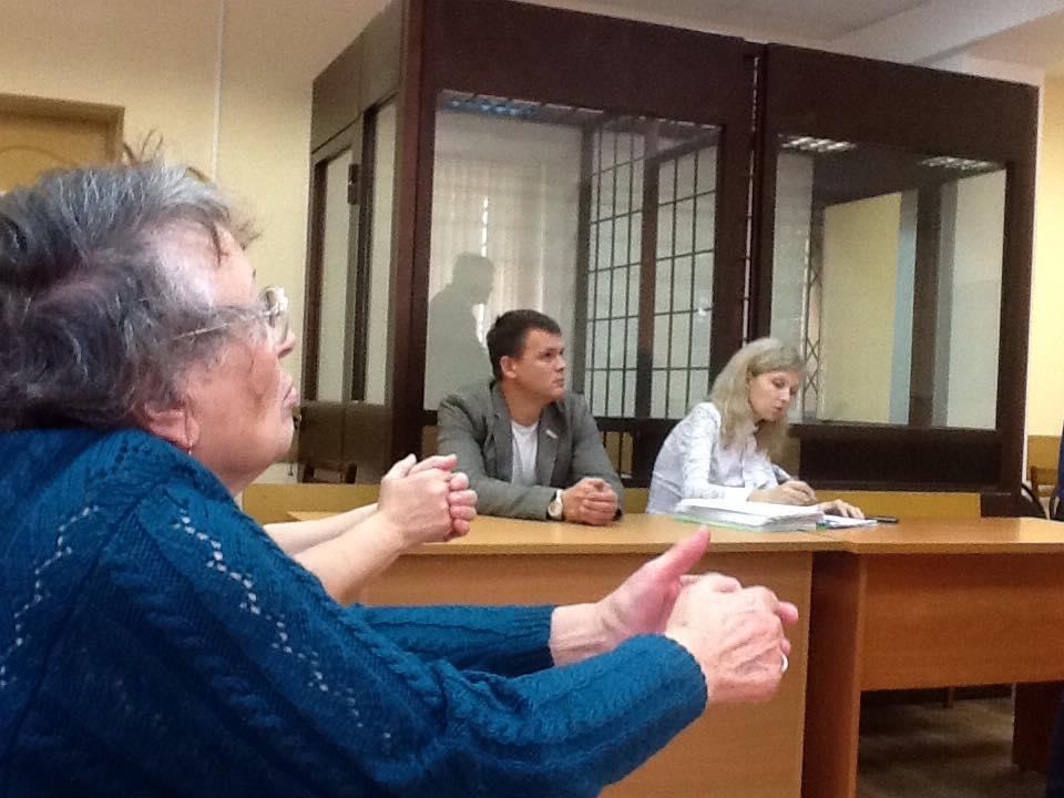 На скамье подсудимых Тимофей Клабуков. Фото: ©День.org
