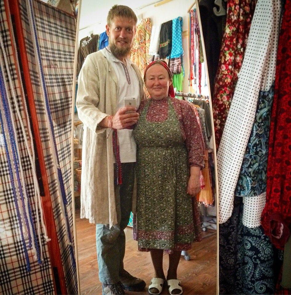 В Малой Пурге с Татьяной Москвиной. Фото: Андрей Исаев