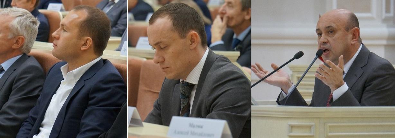 Алексей Чулкин, Владимир Паршин, Юрий Бычков. Фото: © «ДЕНЬ.org»