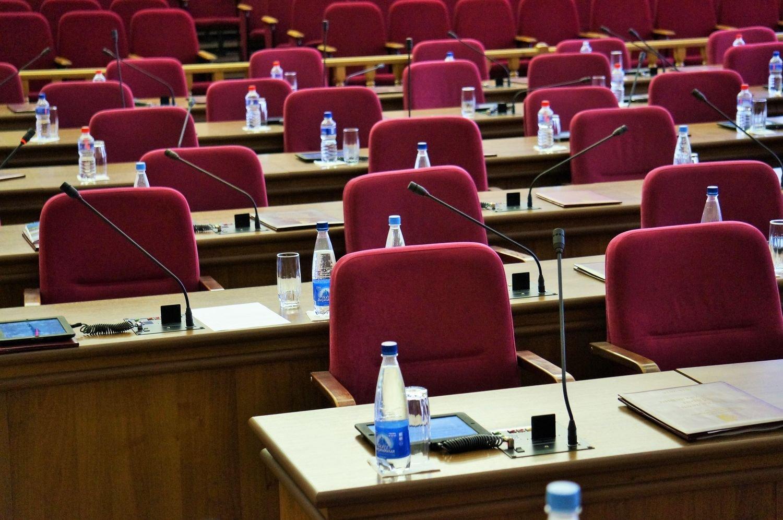 Этим креслам в Гордуме Ижевска осталось пустовать 2 месяца. Фото ©День.org