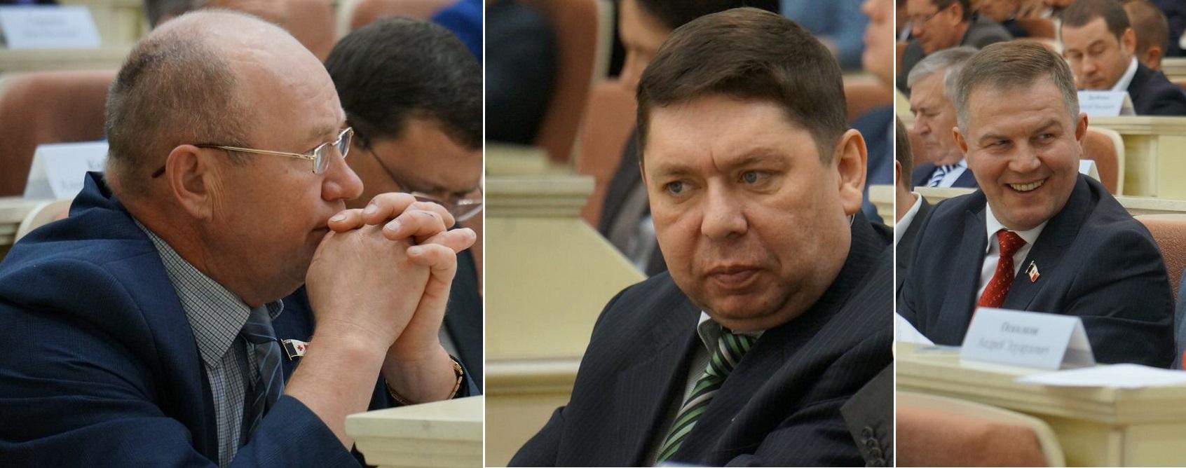 Виталий Ефремов, Андрей Блинов и Валерий Песков. Фото: © «ДЕНЬ.org»