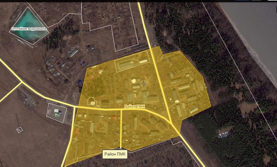 Микрорайон «ПМК». Фото: скриншот wikimapia.org