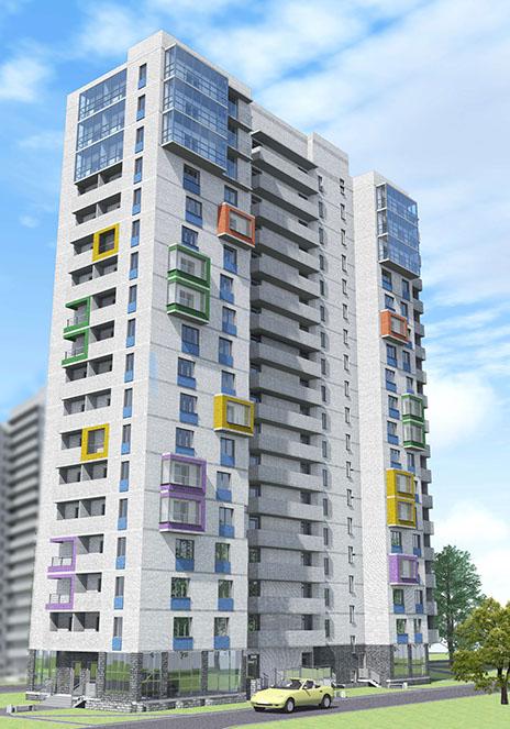 Так будет выглядеть этот дом. Источник: prkv.ru