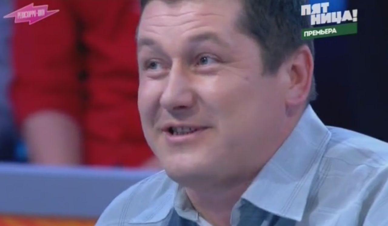 Владимир Савинский. Кадр записи передачи «Ревизорро-шоу»