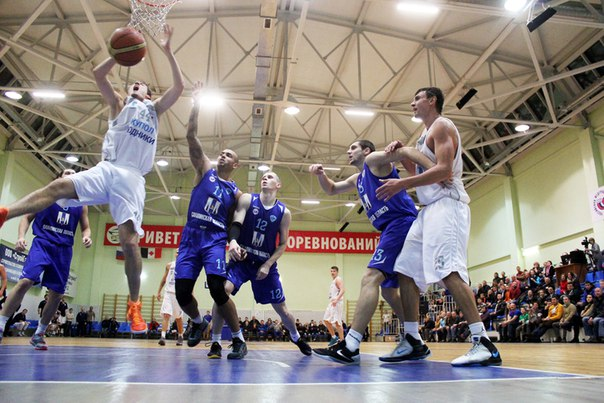 Игра «Родников» с «Сахалином» в Ижевске в ноябре 2015 года. Фото: vk.com/bkrodniki