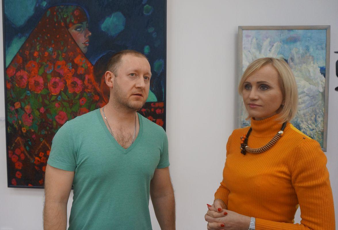 Александр Чувашёв и Алла Ромашова. Фото: © «ДЕНЬ.org»
