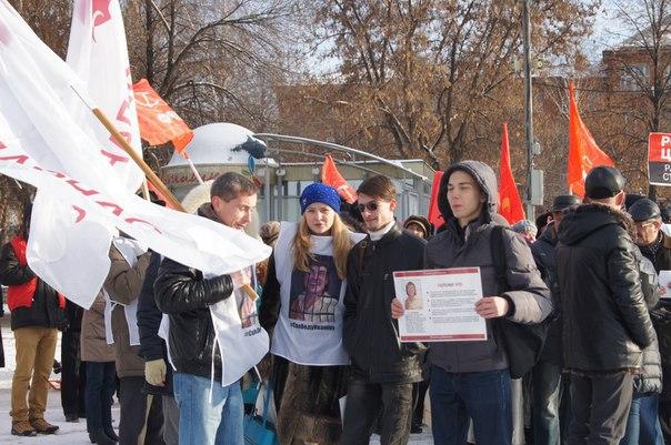 Акция протеста в Воткинске. Активисты ПАРНАСа. Фото: facebook.com (Руслан Тимуршин)