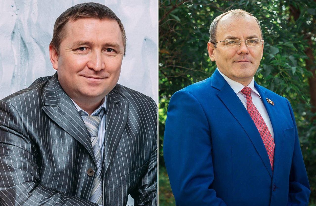 Юрий Мишкин и Сергей Логинов. Фото: facebook.com