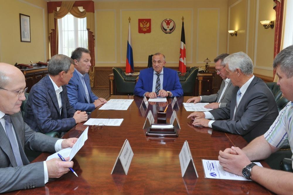 Фото: пресс-служба Главы и Правительства Удмуртской Республики