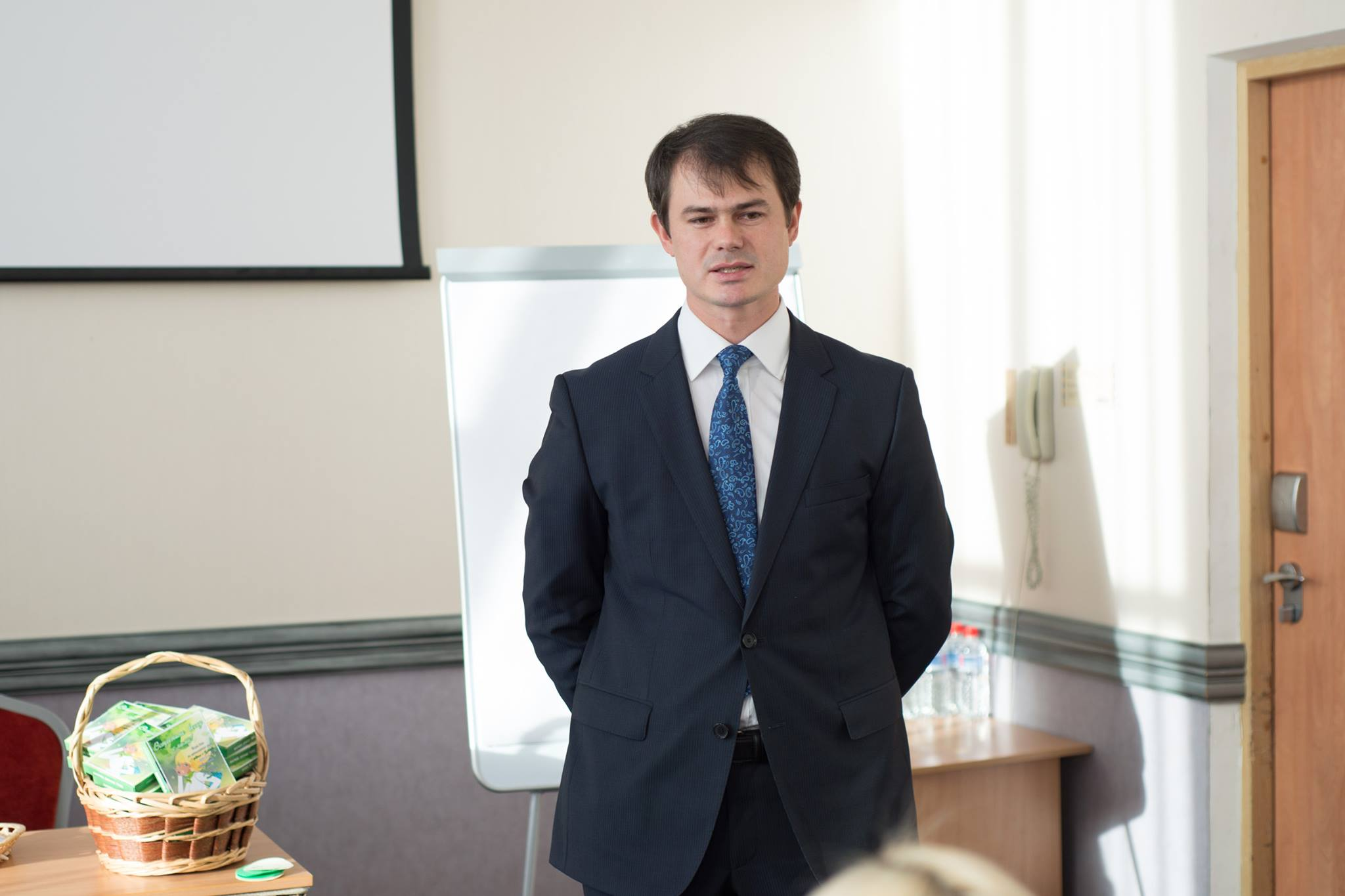Бизнес-омбудсмен Александр Прасолов. Фото:facebook.com (Александр Прасолов)