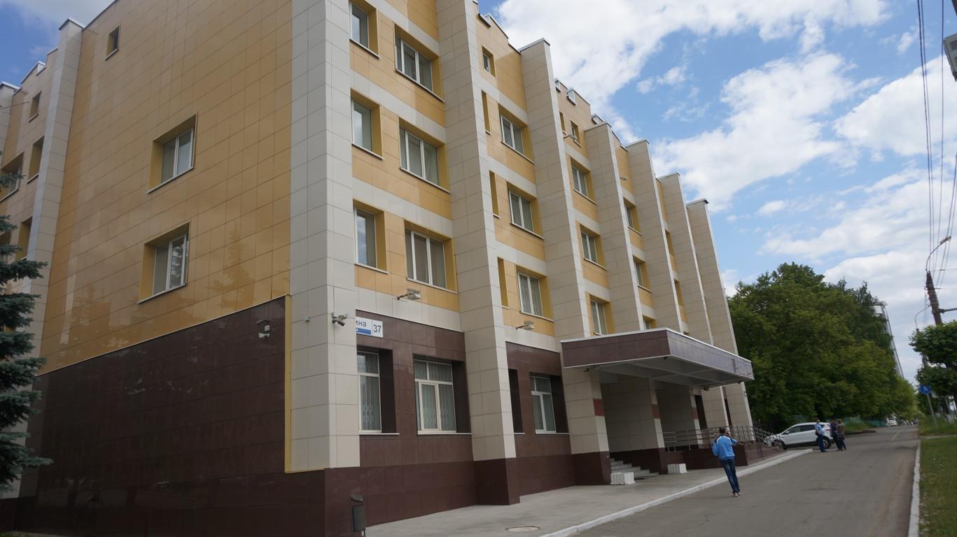 Здание Первомайского районного суда города Ижевска. Фото: «ДЕНЬ.org»