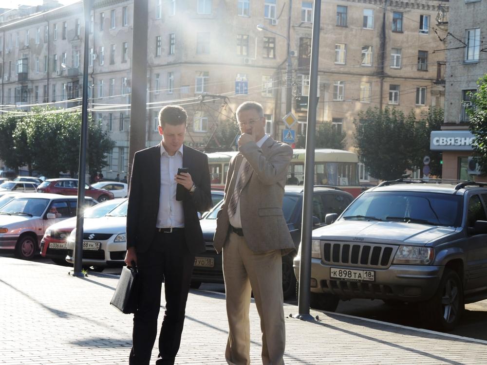 Представители администрации главы УР и Госсовета наблюдали за шествием