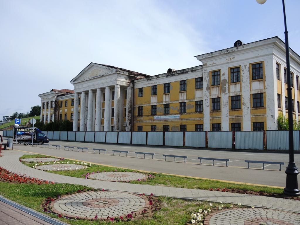 Бывшее здание Индустриального техникума. Фото ©День.org