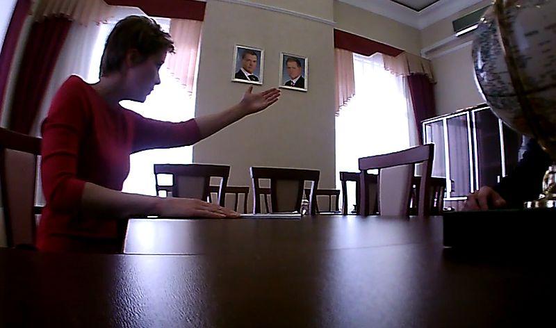 Много лет директора зоопарка Удмуртии прикрывал президент УР Александр Волков. Скриншот кадра видео, предположительно - конец 2011 - начало 2012 г.г.