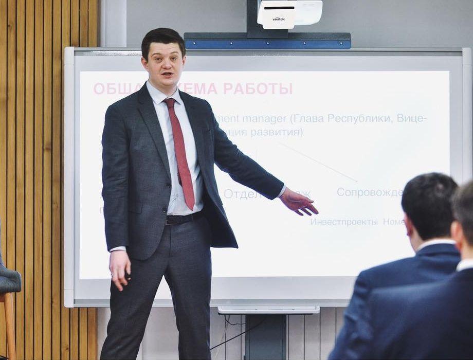 Первый вице-премьер Удмуртии Александр Свинин Фото: facebook (Alexander Svinin)