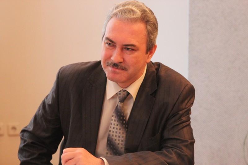 Глава администрации Глазова Александр Коземаслов. Фото: new.glazov-gov.ru.