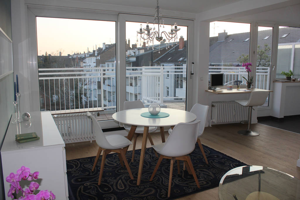 Обычная квартира в Дюссельдорфе. Фото: airbnb.ru