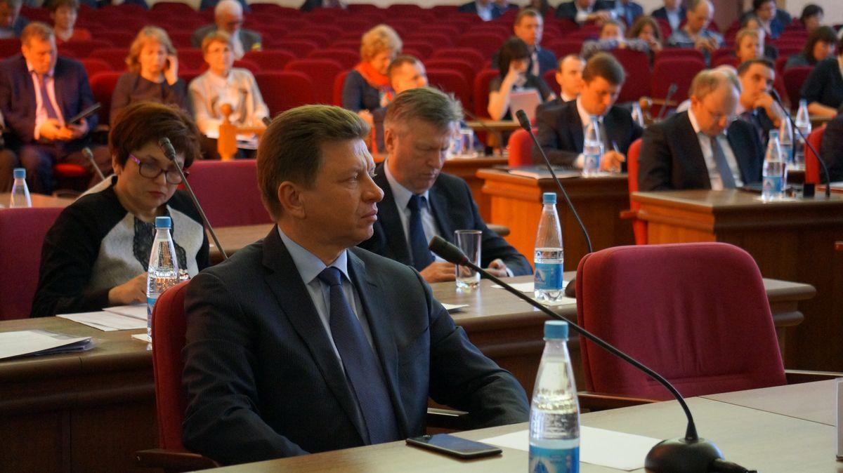И. о. председателя правительства УР Виктор Савельев. Фото: © «ДЕНЬ.org»