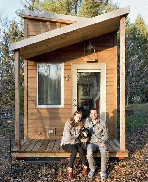 Устав платить бешеные деньги за съем квартиры, веб-дизайнер построил себе дом на колесах. Фото: ochevidets.ru