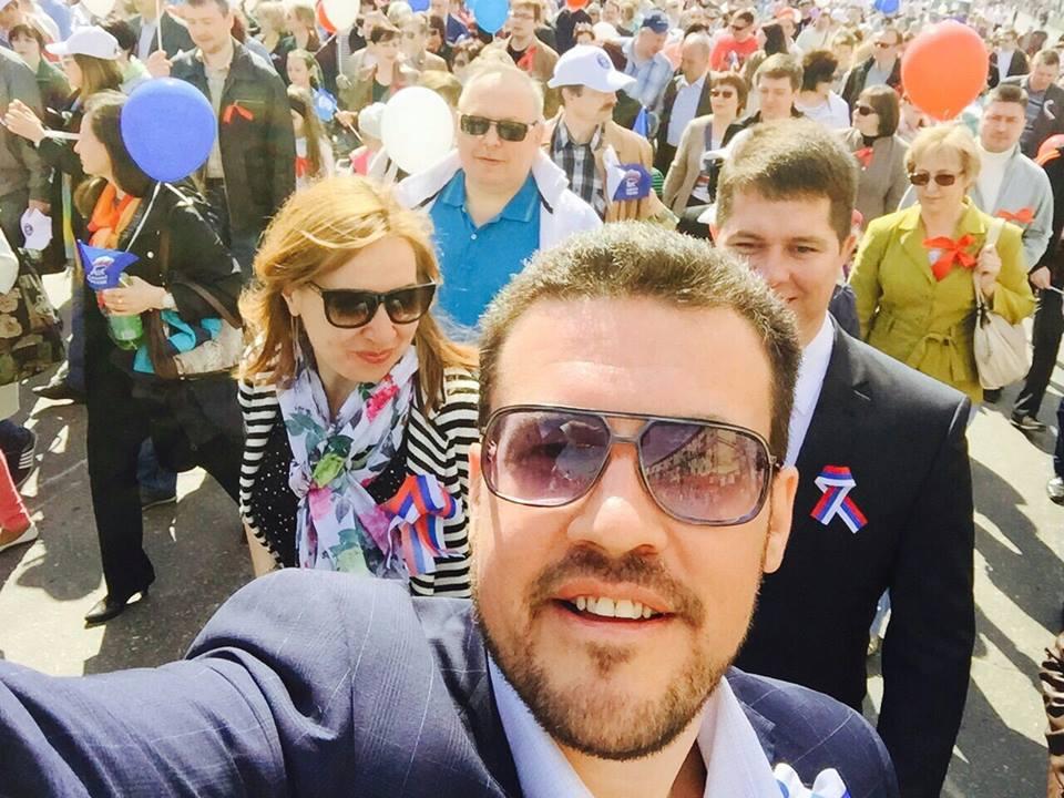Денис Агашин. Селфи. Источник: facebook.com/agashinizhevsk