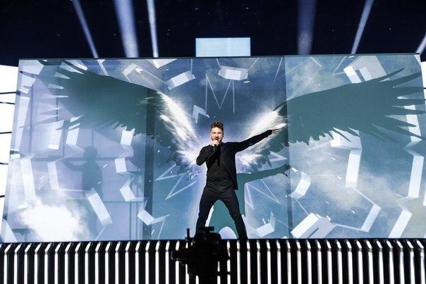 Сергей Лазарев на репетиции «Евровидения». Фото: vk.com/rus_eurovision