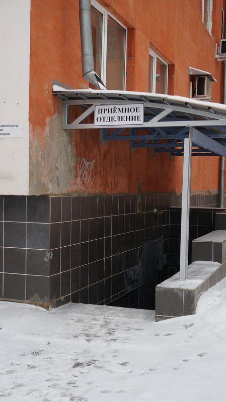 «Удобный» для маломобильных пациентов «Нейрона» приемный покой 7-й детской горбольницы. Фото: «ДЕНЬ.org»