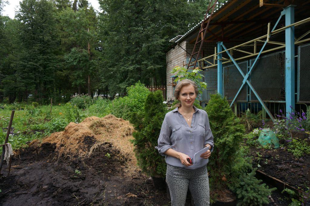 Начальник отдела озеленения и благоустройства территории Светлана Ермакова. Фото ©День.org