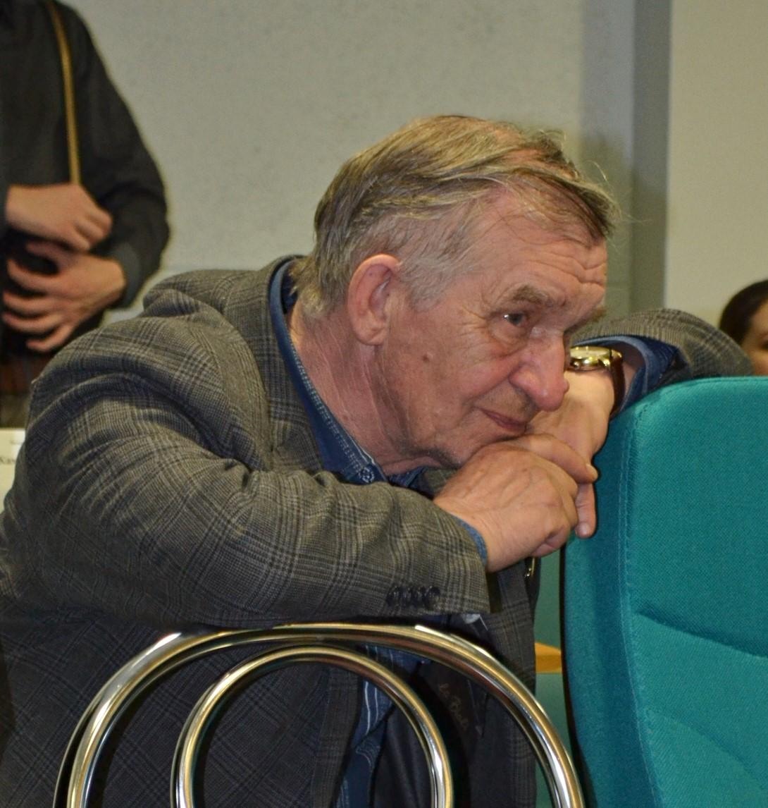 Лирическому поэту Герасиму Иванцову всегда интересно послушать коллегу-поэта. Фото: Александр Поскребышев