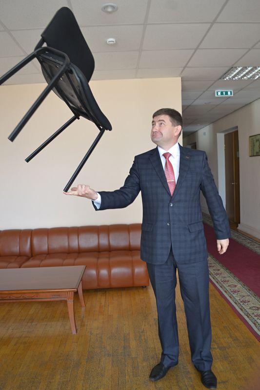 Алексей Чуршин любил рассказывать о своих спортивных достижениях. Фото: Александр Поскребышев