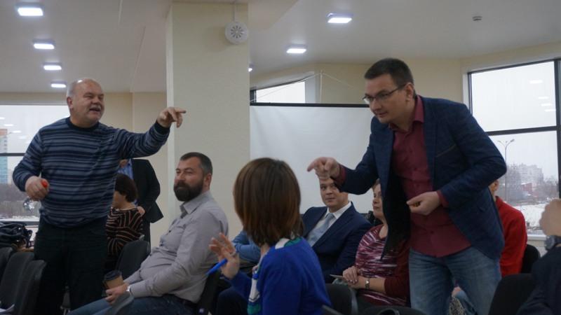 Александр Зорин и Денис Гаврилов. Фото: ©«ДЕНЬ.org»