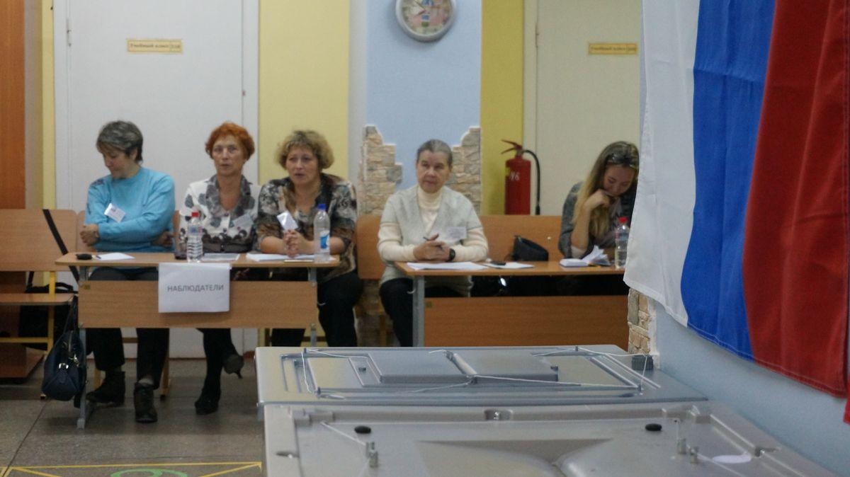 Первые данные подсчета голосов избирателей попартиям обнародовал ЦИК Удмуртии