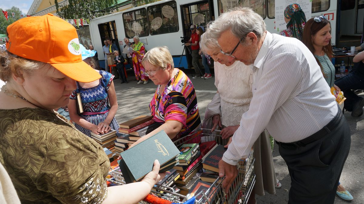Можно было взять почитать любую книгу. Фото: © «ДЕНЬ.org»