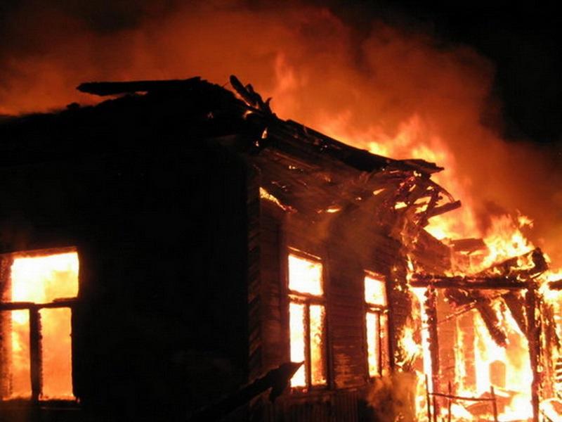Огонь уничтожил хозяйство вДебесском районе Удмуртии