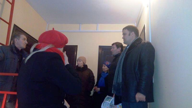 Инспекторам ГЖИ сообщили, что недоделки устранены, и даже пригласили инспекцию для повторного осмотра. Фото: facebook.com (Марат Исмагилов)