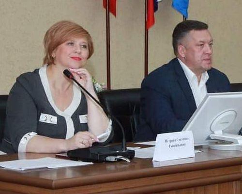 Светлана Петрова и Дмитрий Чистяков. Фото: facebook