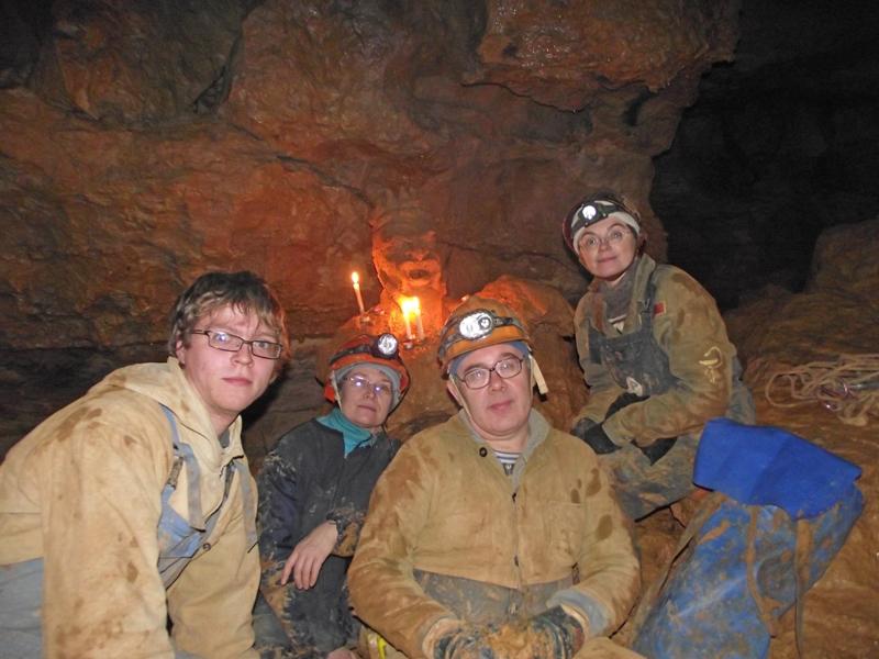 Кизеловка, у хозяина пещеры, 2012 год