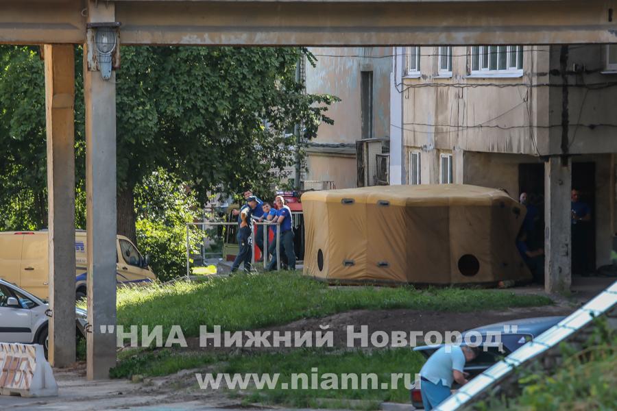 На месте дежурили спасатели. Фото: niann.ru
