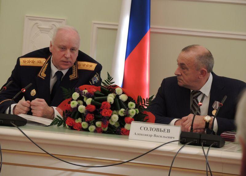 Александр Бастрыкин и Александр Соловьёв. Фото ©День.org