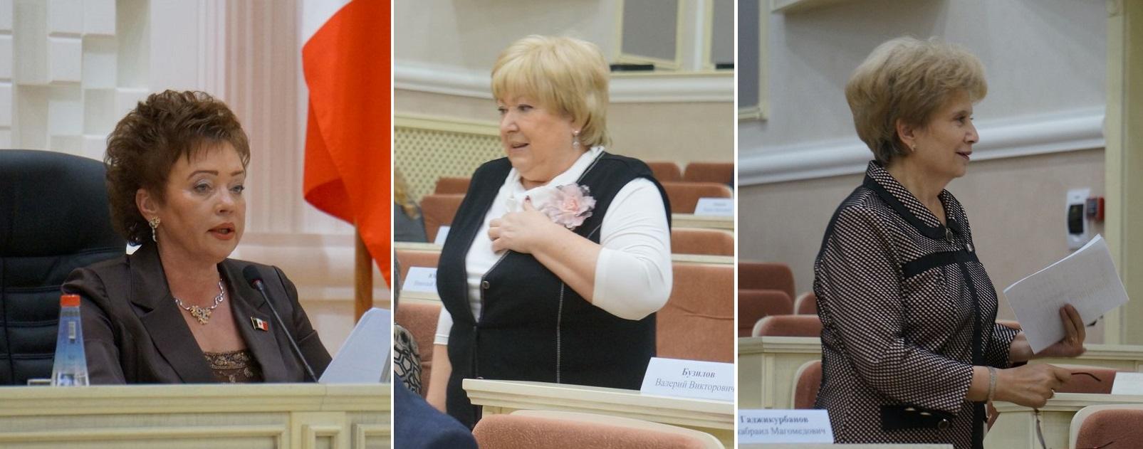 Светлана Кривилева, Зоя Степнова и Галина Мерзлякова. Фото: © «ДЕНЬ.org»
