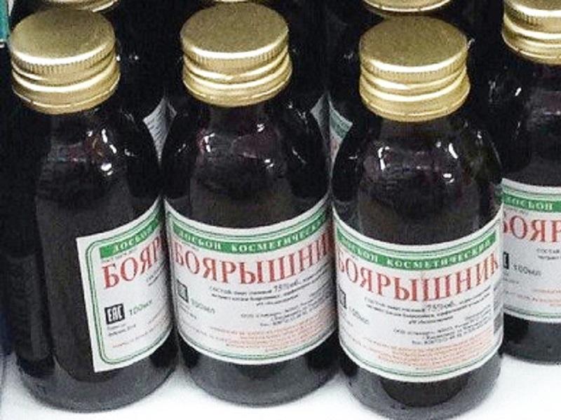В РФ остановили реализацию спиртосодержащей непищевой продукции