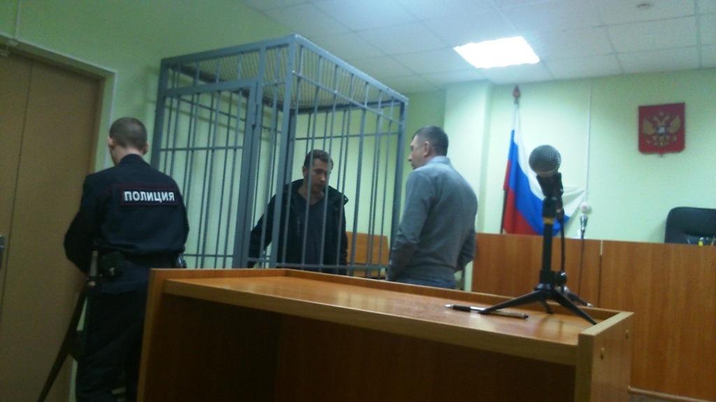 Один из обвиняемых Сергей Сабатаров. Фото: ©«ДЕНЬ.org»