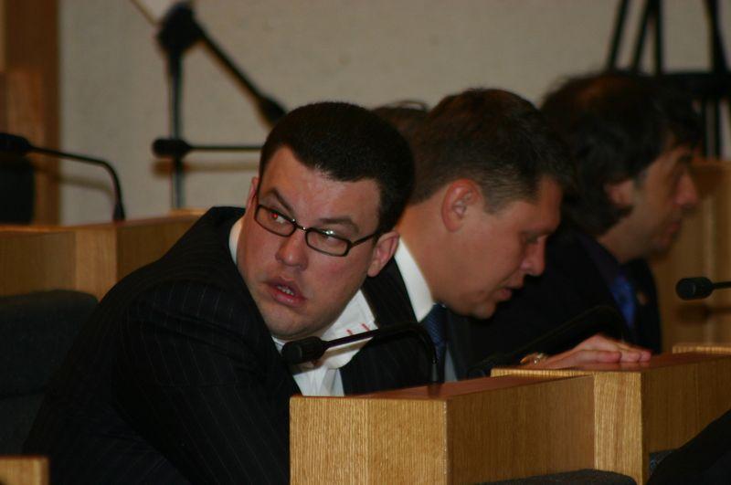 Денис Агашин и Денис Абрамов. Фото из ©архива газеты «День»