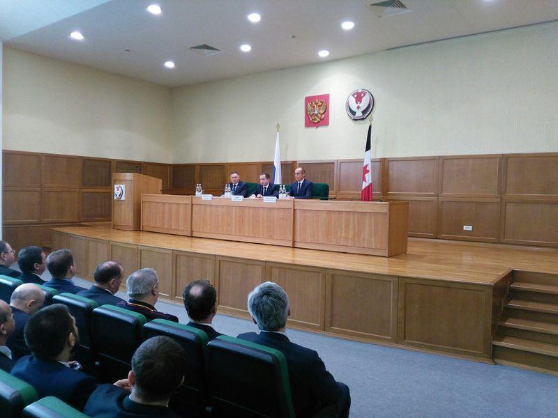 Михаил Бабич представит врио главы Республики Удмуртия Александра Бречалова