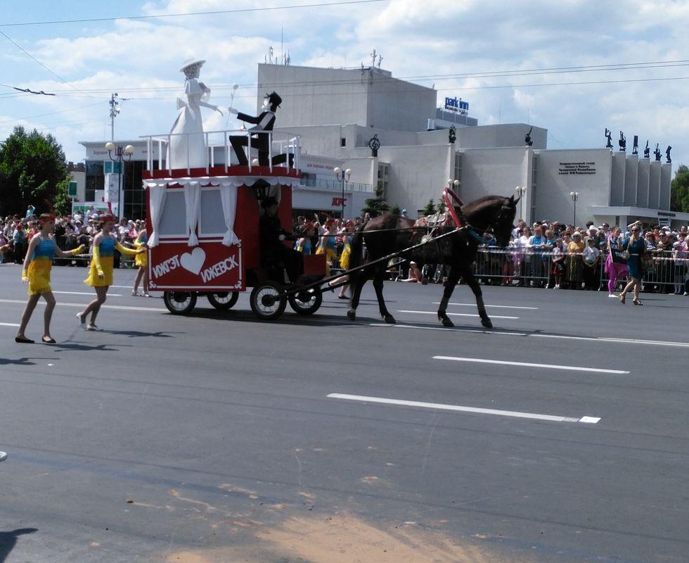 Трамвай на конной тяге. Фото: © «ДЕНЬ.org»