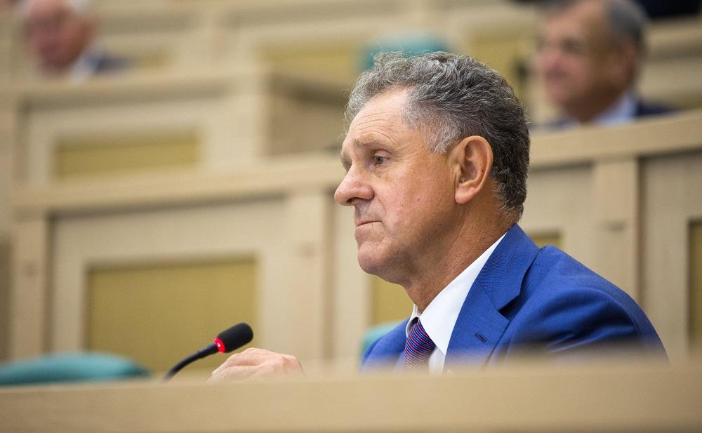 Александр Волков в Совете Федерации. Фото: council.gov.ru