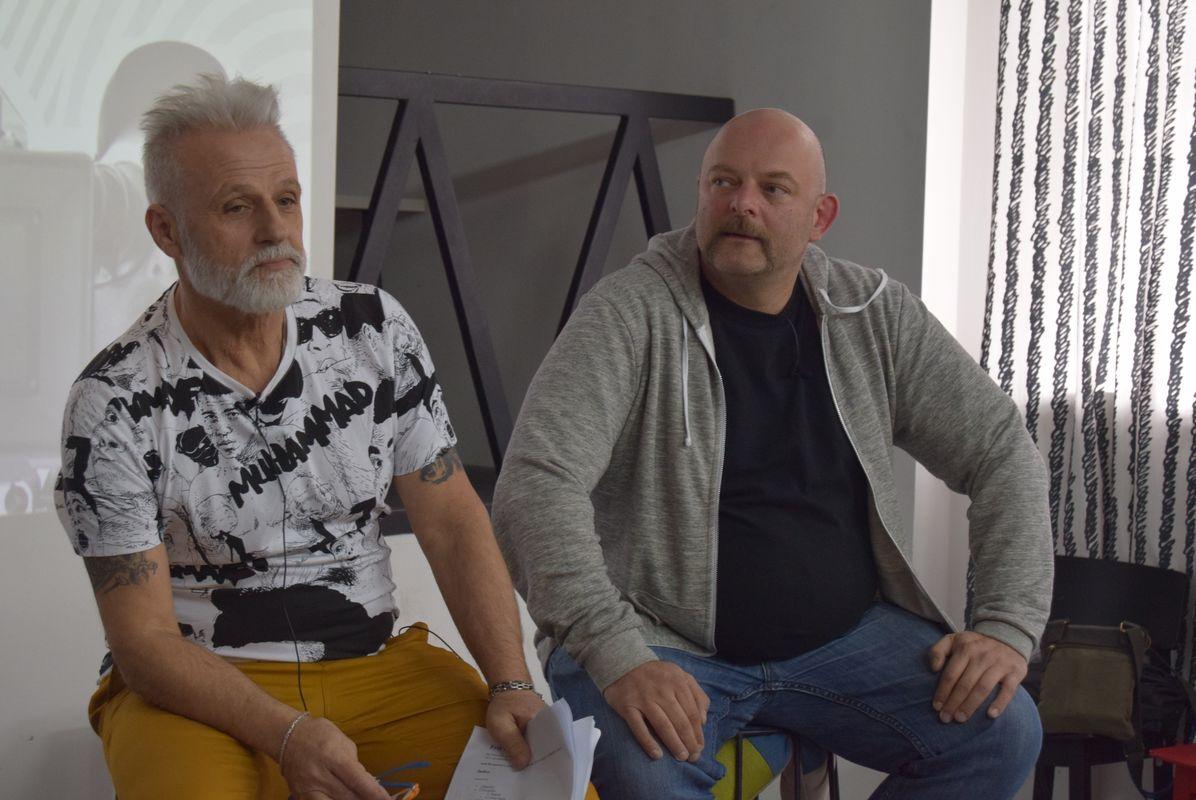 Творческая встреча. Фото: ШГП «Лифт»