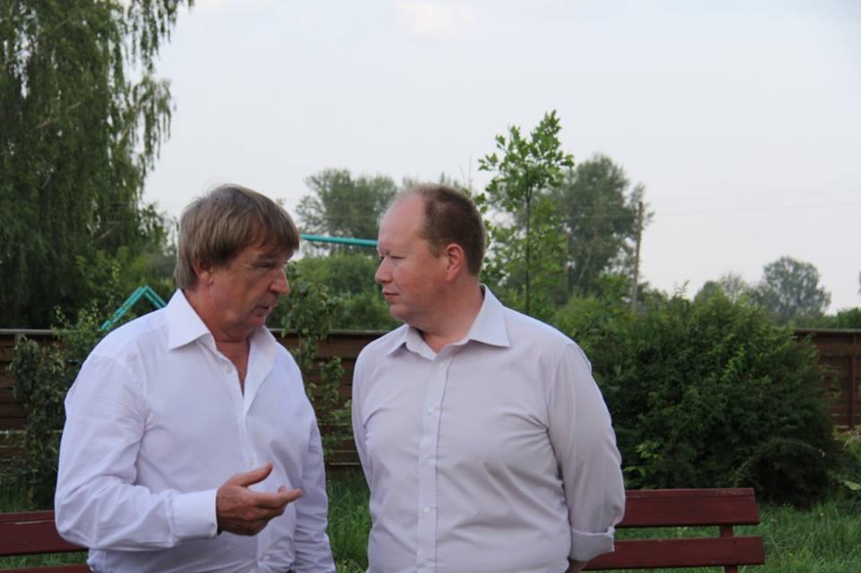 Валерий Бузилов и Алексей Загребин. Фото: facebook.com (Алексей Загребин)