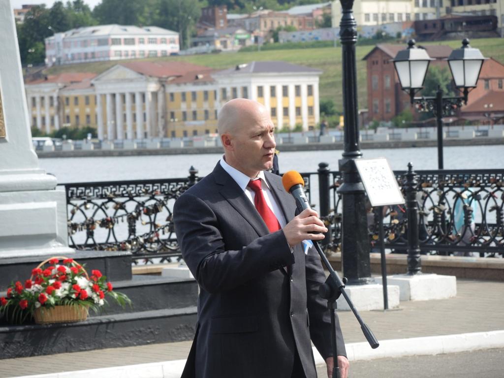 И.о. главы администрации Ижевска Сергей Климов. Фото ©День.org