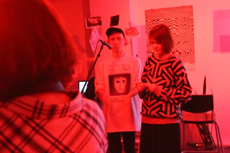 Арт-директор фестиваля BLUSH Кирилл Маркес и куратор Оксана Бода. Фото: © «ДЕНЬ.org»